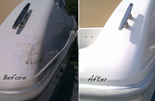 Need gelcoat repair? Learn how to do it yourself